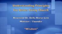 Wisdom!!!! Rev. Dr. Della Reese Lett