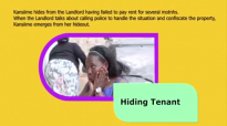 Kansiime the hiding tenant. Kansiime Anne. African comedy.mp4