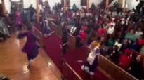 Praise dancer with Bishop Millicent Hunter.flv