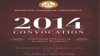 BCU 2014 Convocation Reverand Dr. Frank Madison Reid III