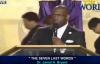 Dr Jamal H Bryant 2015 Seven Last Words Dr Jamal H Bryant sermons
