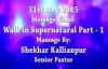SK Ministries - 31st May 2015 , Speaker - Pastor Shekhar Kallianpur.flv