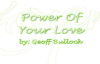 Power Of Your Love Geoff Bullock