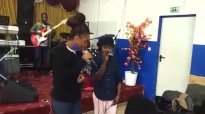 Pastor ID with youth in praise Graz and candle of worship choir rehearsal part 1