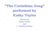 The Corinthian Song - Kathy Taylor.flv