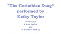 The Corinthian Song - Kathy Taylor.flv