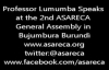 Prof Lumumba Speaks at the 2nd ASARECA GeneralAssembly.mp4