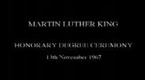Martin Luther King Powerful Speech in the UK at Newcastle University 1967