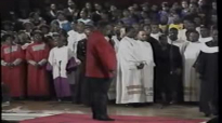 He's A Mighty God - Rev. Timothy Wright & the NY Fellowship Mass Choir.flv