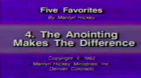 Marilyn Hickey  The Anointing Makes the Difference