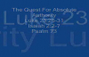 Quest For Absolute Authority Christian Sermon by Dwight Creech