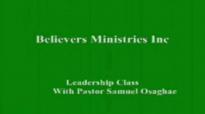 Leadership Class  by Pastor Samuel O Osaghae  8