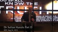 Dr Suliasi Kurulo pt d