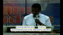 Congress 2012 - Day 2- Wonders of The Spoken Words Prayer by Pastor E A Adeboye- RCCG Redemption Camp- Lagos Nigeria