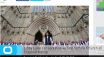 Libby Lane Consecrated as First Female Church of England Bishop.mp4