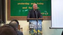 Pastor Robert Karthak preaching at Hounslow nepali fellowshippart 1