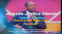 The Last Days Part 1_ Don't Lose Your Devotion To God by Apostle Justice Dlamini.mp4
