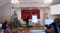Rev. San Toe in Norway (29. Dec 2014)- 3.flv