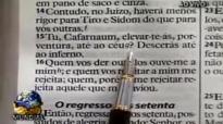 Apstolo Valdemiro Santiago  O poder da orao  Mateus 8.5 06.04.2014 10h