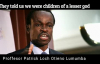 Africa must be free Prof P L O Lumumba.mp4