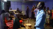 Joe Mettle @ Rehearsal with Love Gift and overflow #Reverb studios