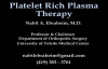 Platelet Rich Plasma Therapy  Everything You Need To Know  Dr. Nabil Ebraheim