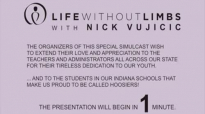 Nick Vujicic School talk on anti-bullying _ anti-suicide Indiana Sept 11 2014.flv