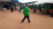 Watch and see the cripple dance herself to tiredness in Benin prison, while we are stingy with prais.mp4