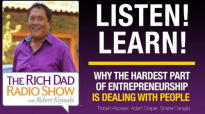 HEAR WHY THE HARDEST PART OF ENTREPRENEURSHIP IS DEALING WITH PEOPLE – Robert Ki.mp4