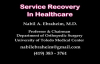 SERVICE RECOVERY IN HEALTH CARE  Everything You Need To Know  Dr. Nabil Ebraheim