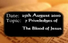 Uma Ukpai - 7 Priviledges of the blood of Jesus