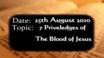 Uma Ukpai - 7 Priviledges of the blood of Jesus