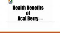 Health benefits of acai berry  HEALTH BENEFITS  HEALTH TIPS