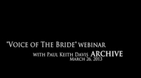 Webinar 3 with Paul Keith Davis The Great Cloud of Witnesses Pt. 3