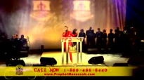 Prophet Manasseh Jordan - Great Is Thy Faithfulness & Glorify Your Name.flv