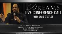 David E. Taylor - Dreams - Live Conference Call - 11_20_14.mp4