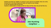 The job hunting neighbour. Kansiime Anne. African comedy.mp4