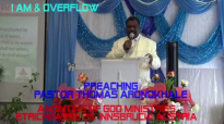 Preaching Pastor Thomas Aronokhale - Anointing of God Ministries I AM & OVERFLOW Part 3 January 2020.mp4