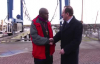 The Archbishop of York Dr John Sentamu visits Bridlington harbour.mp4