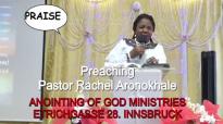 Preaching Pastor Rachel Aronokhale AOGM December 2018 PRAISE 1.mp4