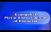 Evangelist Pierre Andre Laurent at Ebenezer Baptist Church In Philadelphia.flv