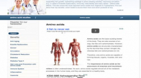 ARTICLE OVERVIEW  Benefits of amino acids aminoacidstudies.org introduction video