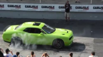 Ralph Gilles' Hellcat burnout 2014 Carlisle All-Chrysler Nationals.mp4