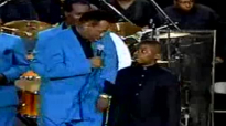 Willie Neal Johnson & Gospel Keynotes featuring grandson STEVE.flv