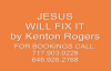 Jesus Will Fix It by Kenton Rogers.flv