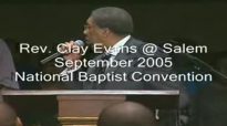 Rev. Clay Evans Preaching 'Storm Survivors' at Jasper Williams Church.flv