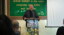Pastor Robert Karthak preaching at Hounslow uk nepali fellowshippart 5