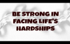 Ed Lapiz  Be Strong in Facing Lifes Hardships
