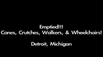 David E. Taylor - Emptied! Canes, Crutches, Walkers, & Wheelchairs.This is Amazi.mp4