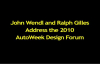 Dodge Car Brand President and CEO Ralph Gilles addresses the AutoWeek Design Forum.mp4